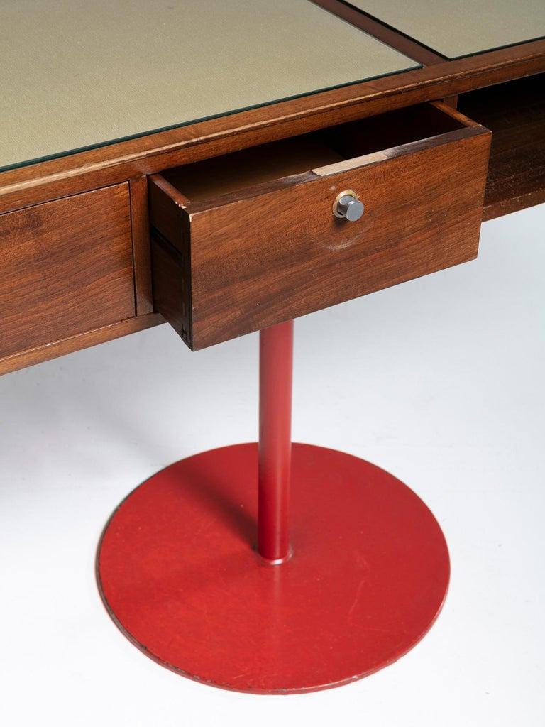 Large Italian 1960s Wood Counter 2
