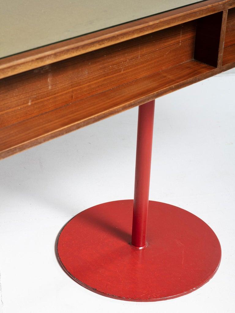 Large Italian 1960s Wood Counter 3