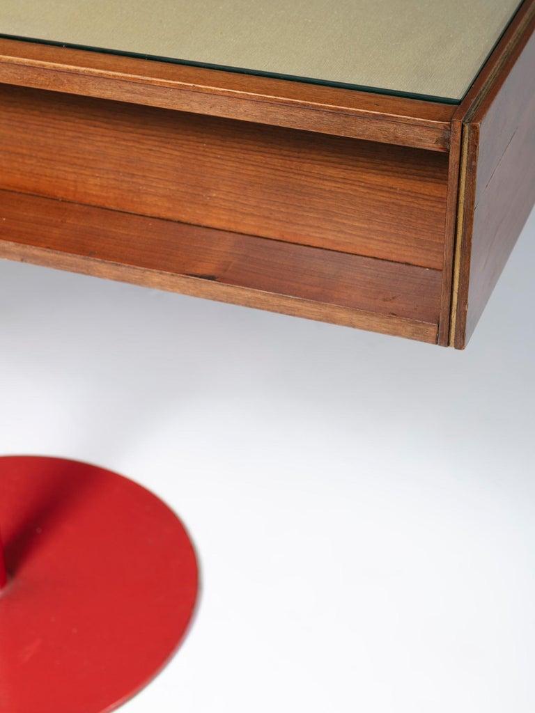 Large Italian 1960s Wood Counter 4