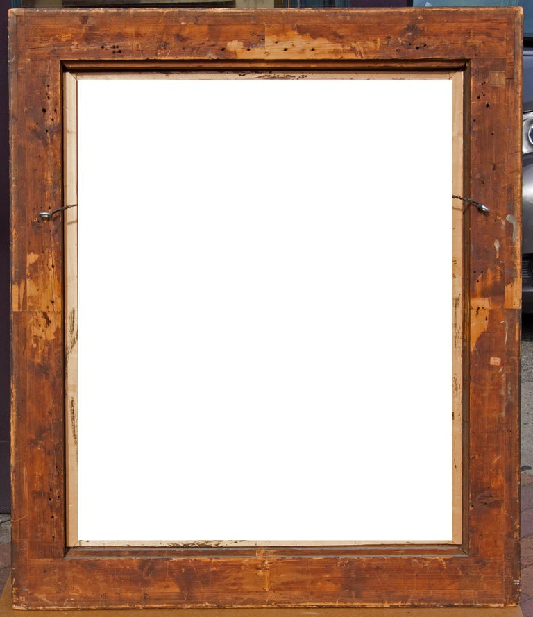 Large Italian Baroque Cassetta Frame In Good Condition For Sale In Rochester, NY