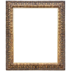 Large Italian Baroque Cassetta Frame