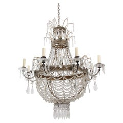Large Italian Basket Chandelier