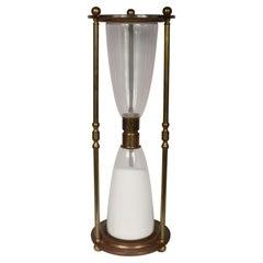 Large Italian Brass Hourglass
