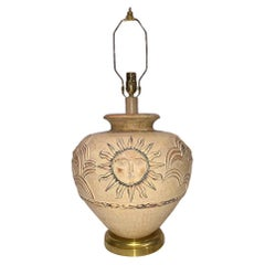 Large Italian Ceramic Lamp
