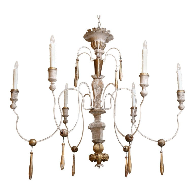 Large Italian Chandelier For Sale