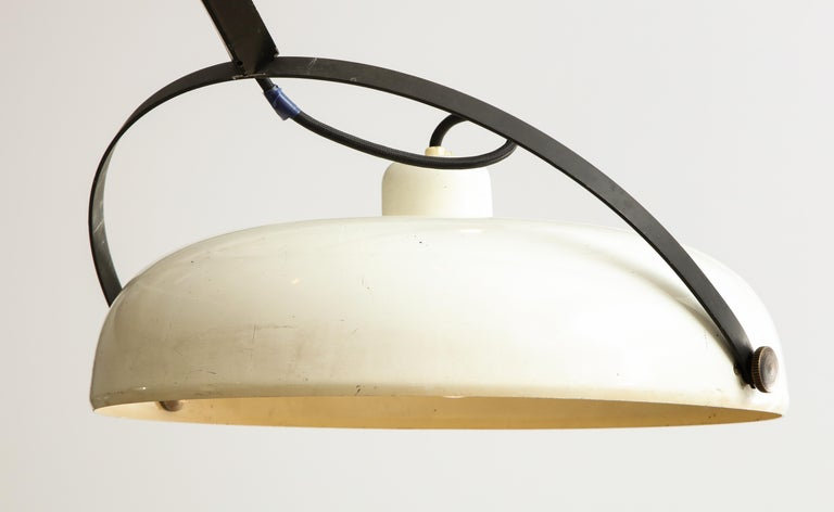 Large Italian Counterweight Light Fixture For Sale 9