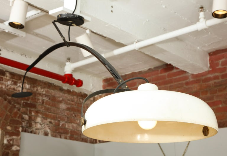 Large Italian Counterweight Light Fixture For Sale 10