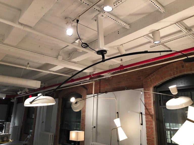 Large Italian Counterweight Light Fixture For Sale 13