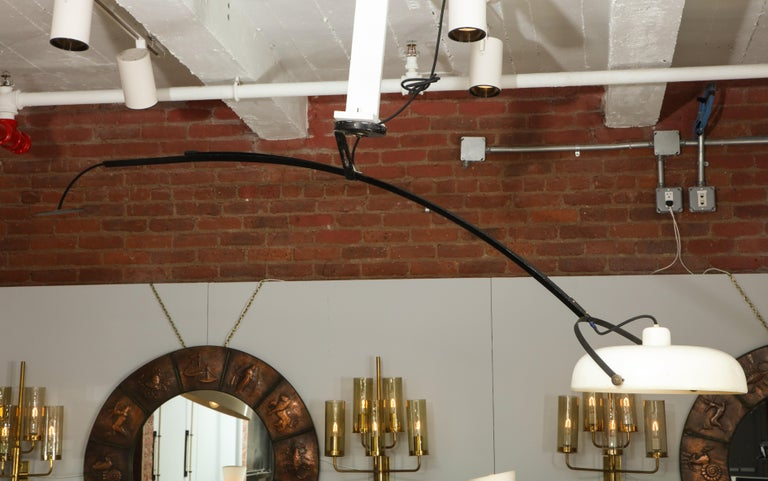 Large Italian Counterweight Light Fixture For Sale 14