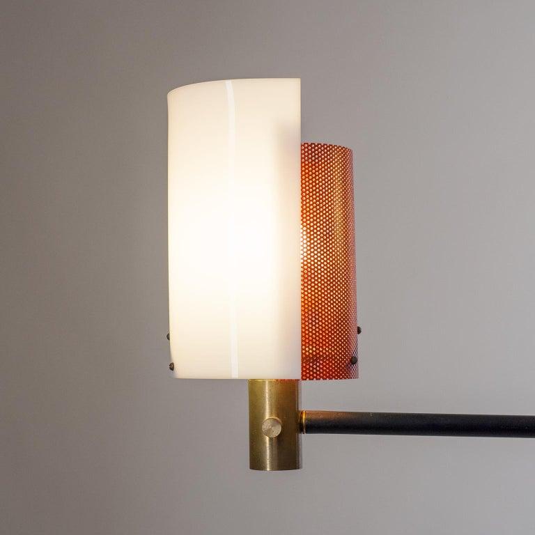 Large Italian Floor Lamp, 1950s For Sale 5
