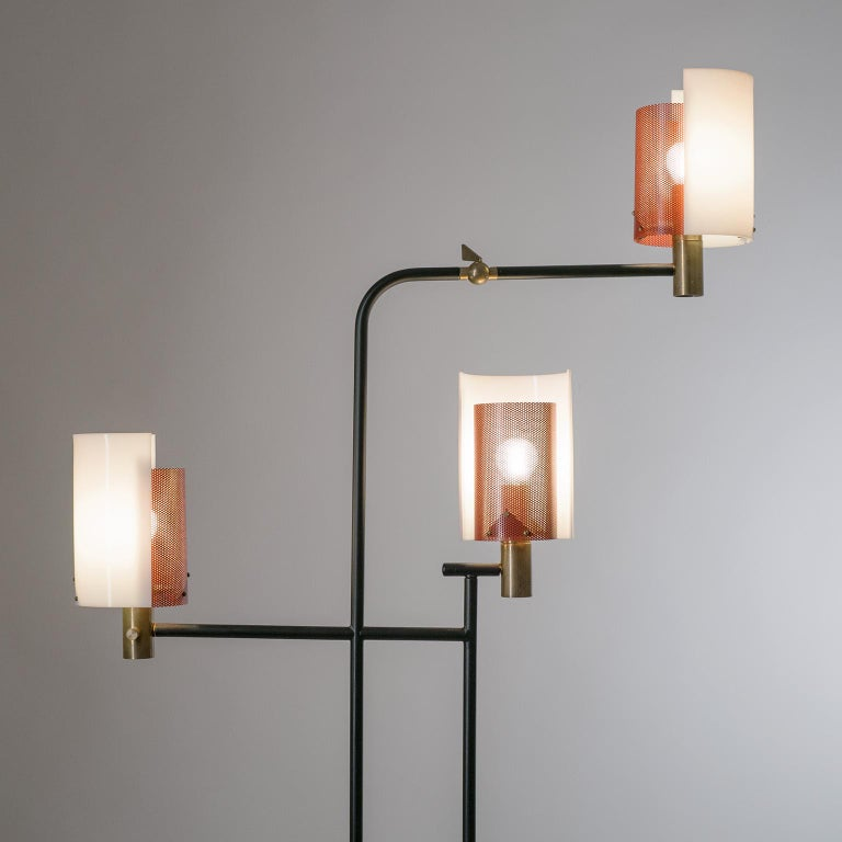 Large Italian Floor Lamp, 1950s For Sale 6