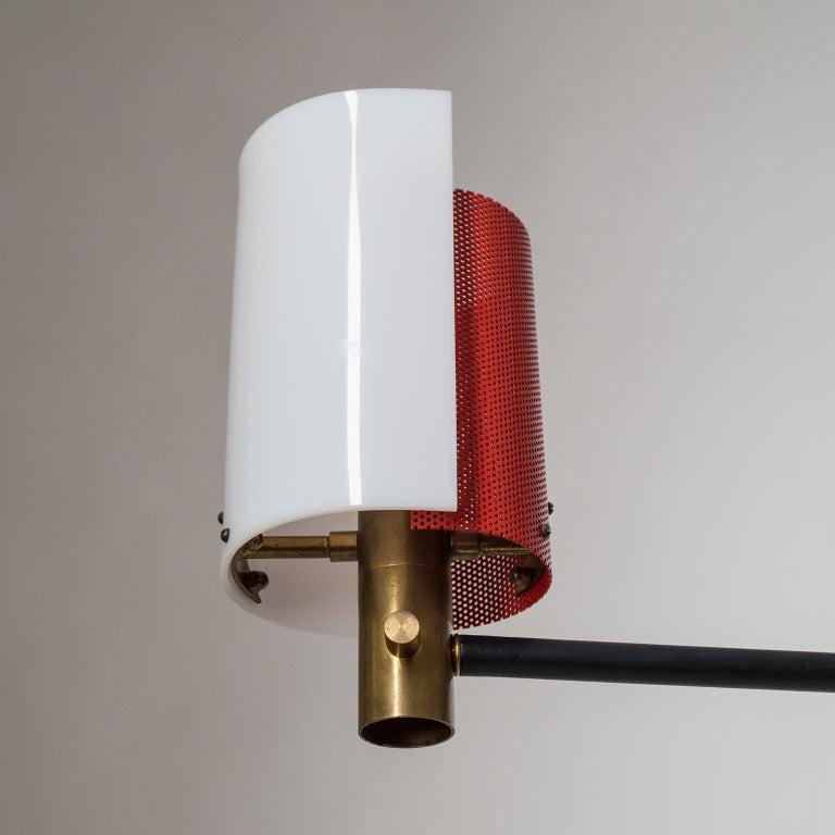 Large Italian Floor Lamp, 1950s For Sale 8
