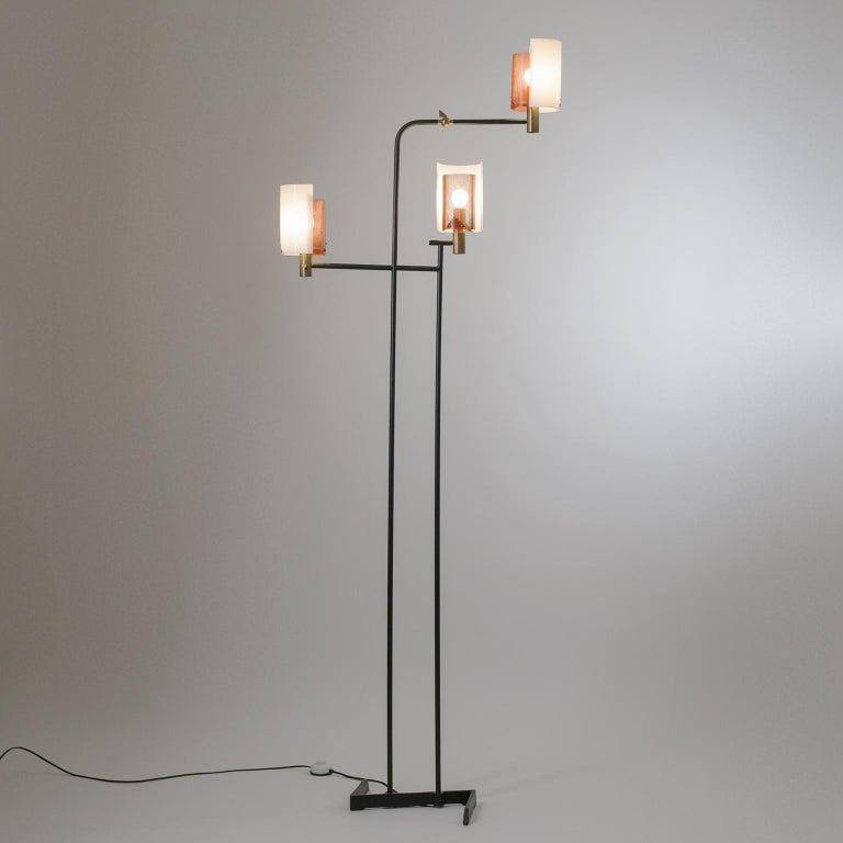 Mid-Century Modern Large Italian Floor Lamp, 1950s For Sale