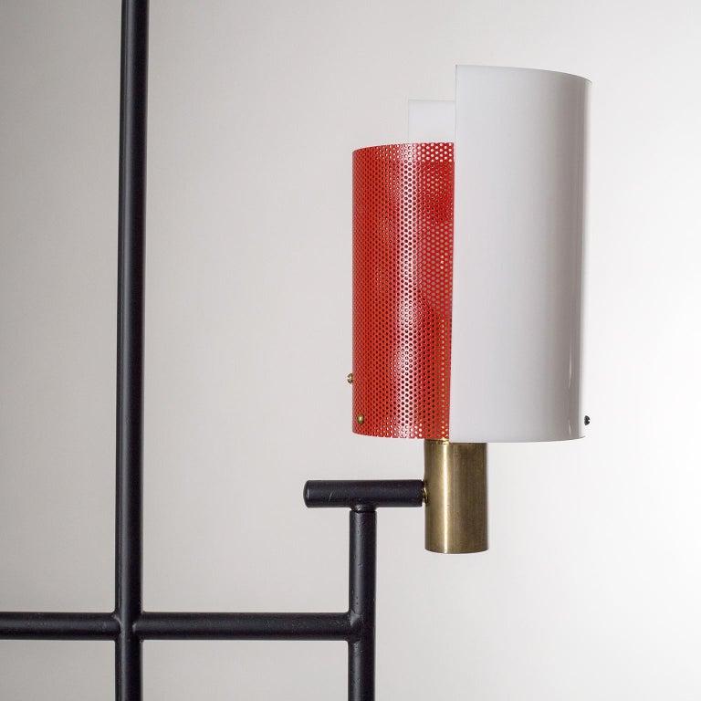 Mid-20th Century Large Italian Floor Lamp, 1950s For Sale