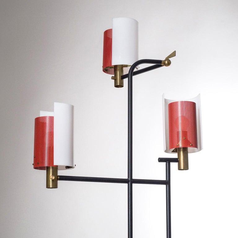 Large Italian Floor Lamp, 1950s For Sale 2
