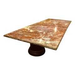 Large Italian Marble Conference Table