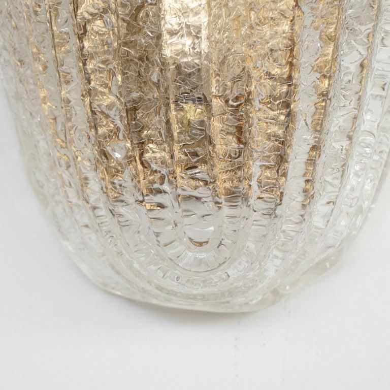 Large Italian Murano Glass Sconce  2