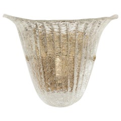 Large Italian Murano Glass Sconce