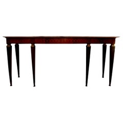 Large Italian Neoclassical Style Console Table Attributed to Paolo Buffa