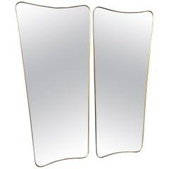Large Italian Shield Mirror