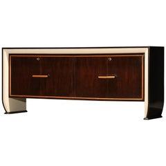 Large Italian Sideboard Attributed to Osvaldo Borsani for Atelier Borsani, 1950s