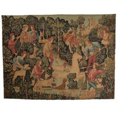 Large Italian Wall Tapestry by Paris Panneaux Gobelins