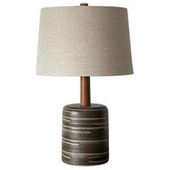 Large Jane and Gordon Martz Ceramic Table Lamp