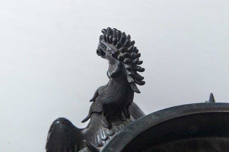 Large Japanese Bronze Koro (incense burner) For Sale 3