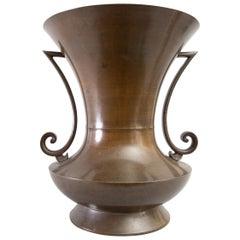 Large Japanese Bronze Vase