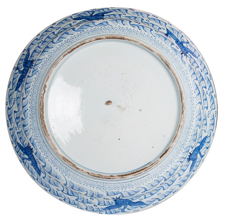 Large Japanese Imari Charger, 19th Century For Sale 4