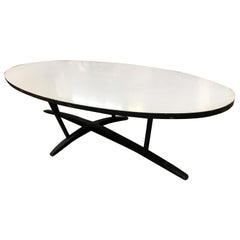 Large John Keal Inspired Surfboard Coffee Table with Formica Top
