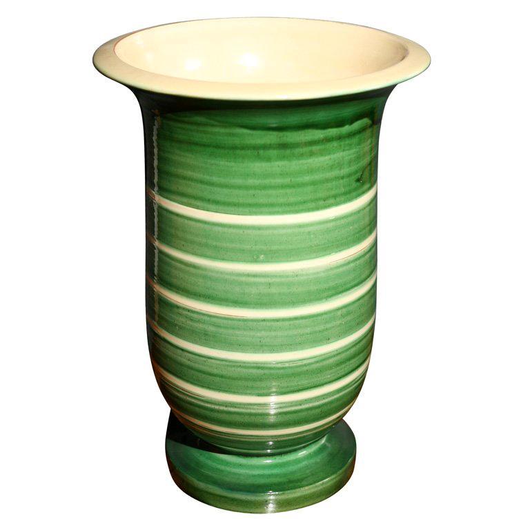 Large Kaehler Pottery Urn