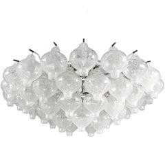 "Large Kalmar ""Tulipan"" Flush Mount Murano Glass Chandelier with 21 Lights"