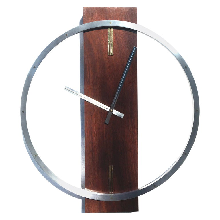 Large Kienzle Style Wall Clock For Sale
