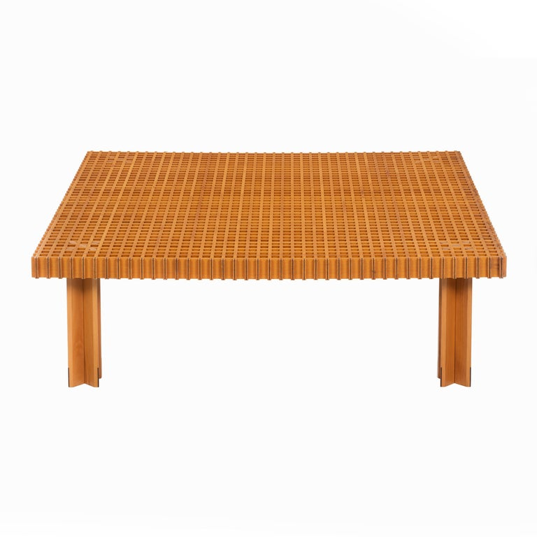Gianfranco Frattini Kyoto coffee table, 1974, offered by Converso