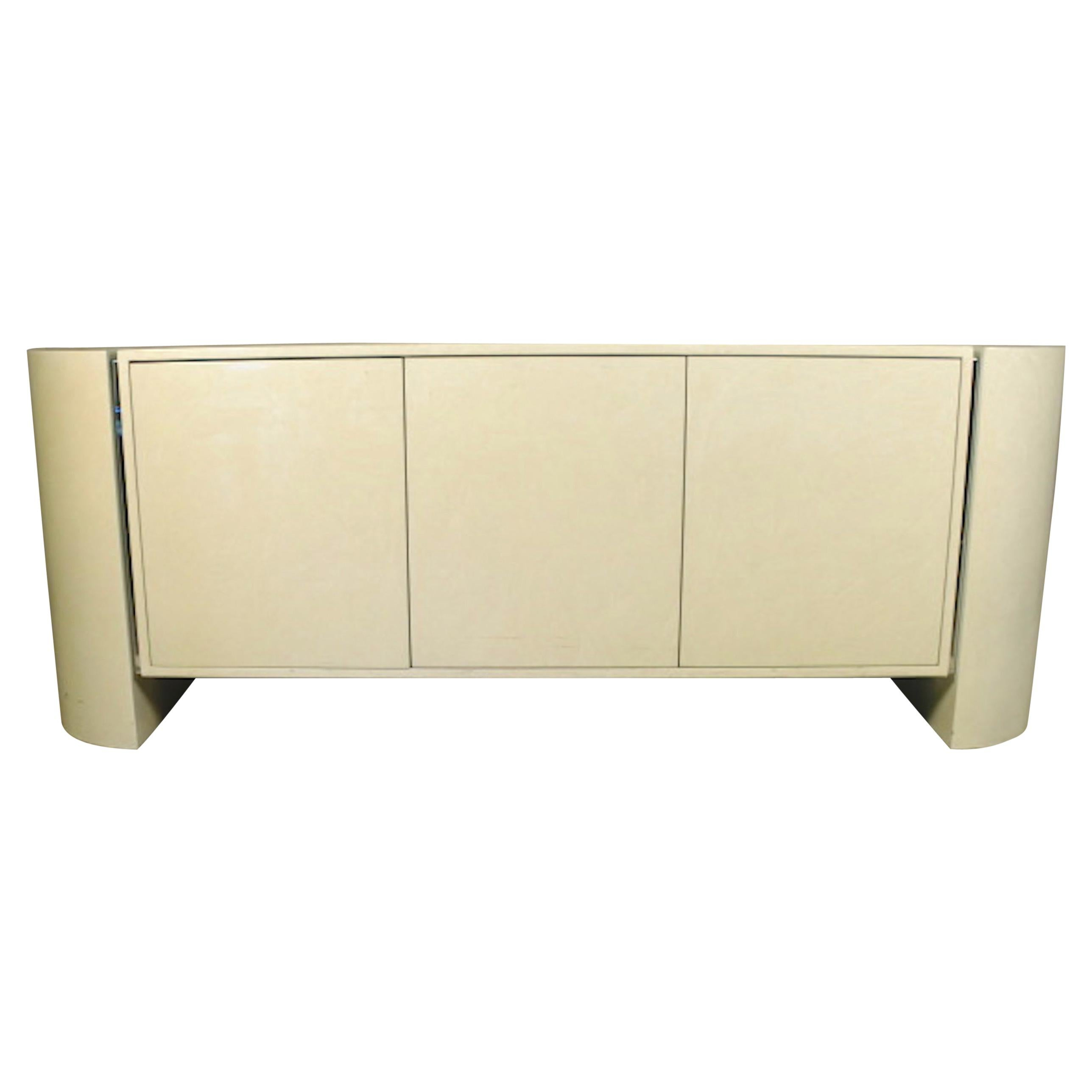 Large Lacquered Credenza