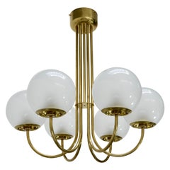 Large Lamperti Chandelier