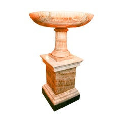 Large Lapis Medica and Marble Coupe or Tazza