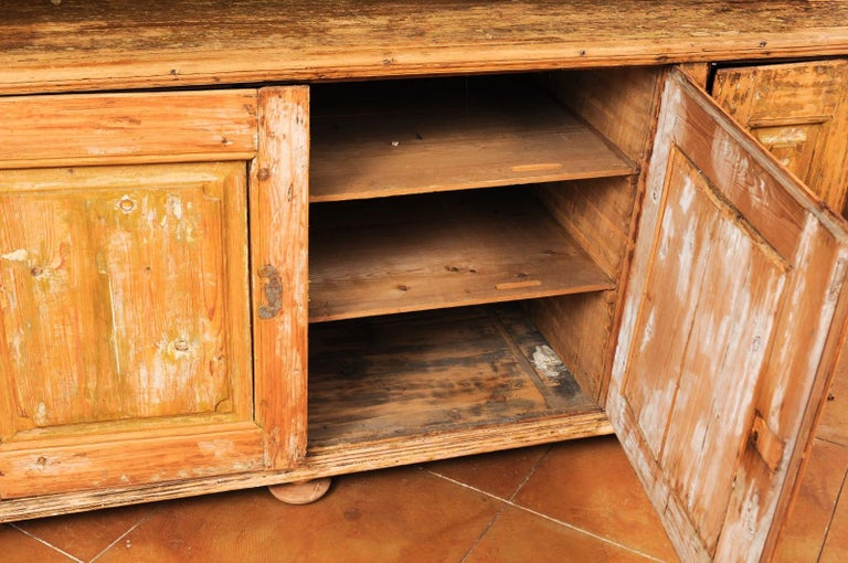 Large Late 18th Century French Buffet à Deux-Corps from a Monastery Near Avignon For Sale 7