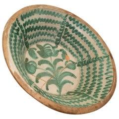 "Large Late 18th Century Spanish Granada Fajalouza ""Lebrillo"" Bowl"