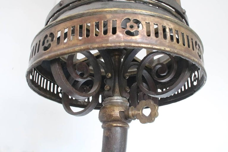 Large Late 19th Century Arts & Crafts Wall Lantern For Sale 3