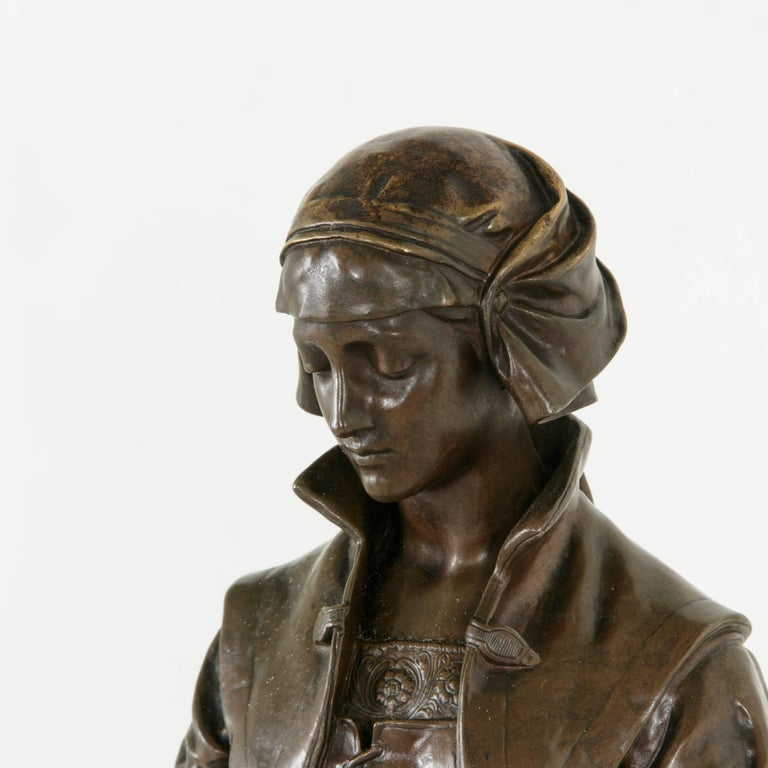 Large Late 19th Century French Bronze Statue
