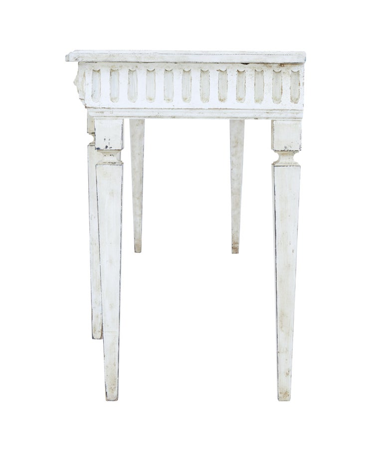 Large Late 19th Century Painted Console Table 5