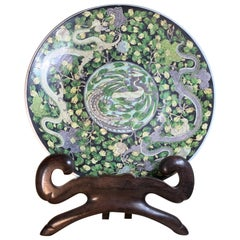 Large Late Republic Period Chinese Charger