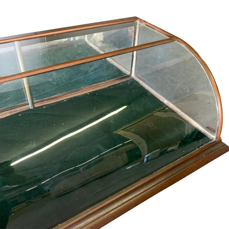 Large Late Victorian Shop Display Case, Museum, Collector's Cabinet In Good Condition For Sale In Haddonfield, NJ