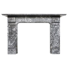 Large Late Victorian St Anne Marble Chimneypiece