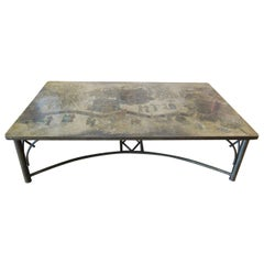 Large LaVerne Chinoiserie Coffee Table, USA, 1970