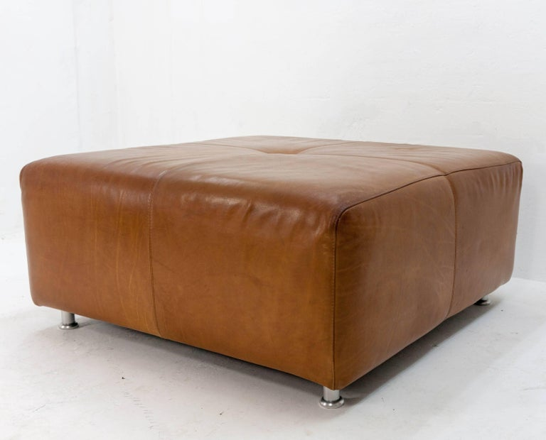 Large Leather Ottoman For Sale At 1stdibs