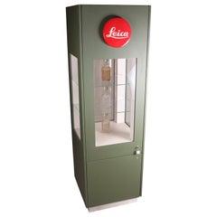 Large Leica Shop Display Cabinet