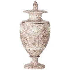 Large Lidded Ceramic Vase, Probably, Austria, circa 1800
